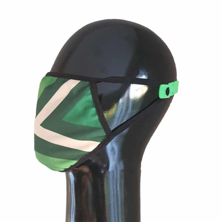 Mondkapje of mondmasker met Achterhoekse vlag