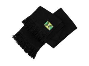 achterhoekse sjaal zwart